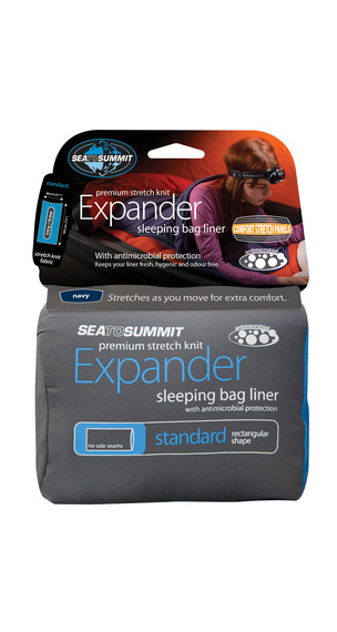 Sea to Summit Expander - Sacos de dormir - Standard Rectangular azul